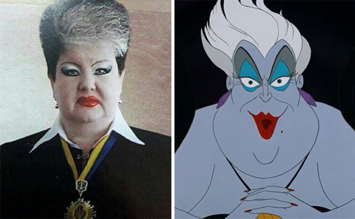 This Ukrainian Judge Looks Like Ursula From Little Mermaid
