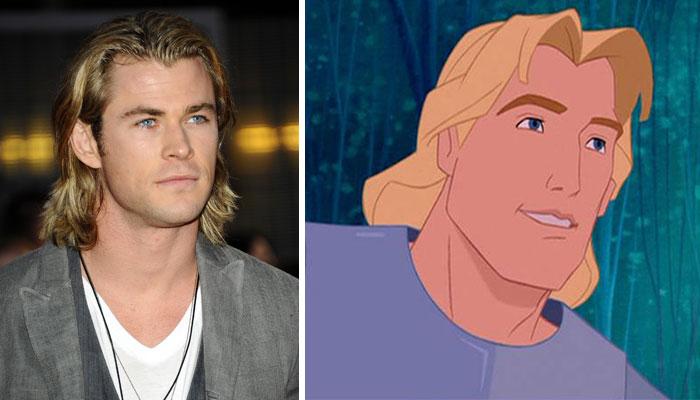 Chris Hemsworth Looks Like John Smith From Pocahontas