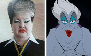 10+ Real Life Disney Characters