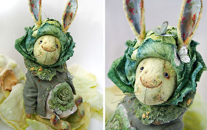 Unique Easter Dolls That Look Like They're Made Of Vegetables By Russian Artist