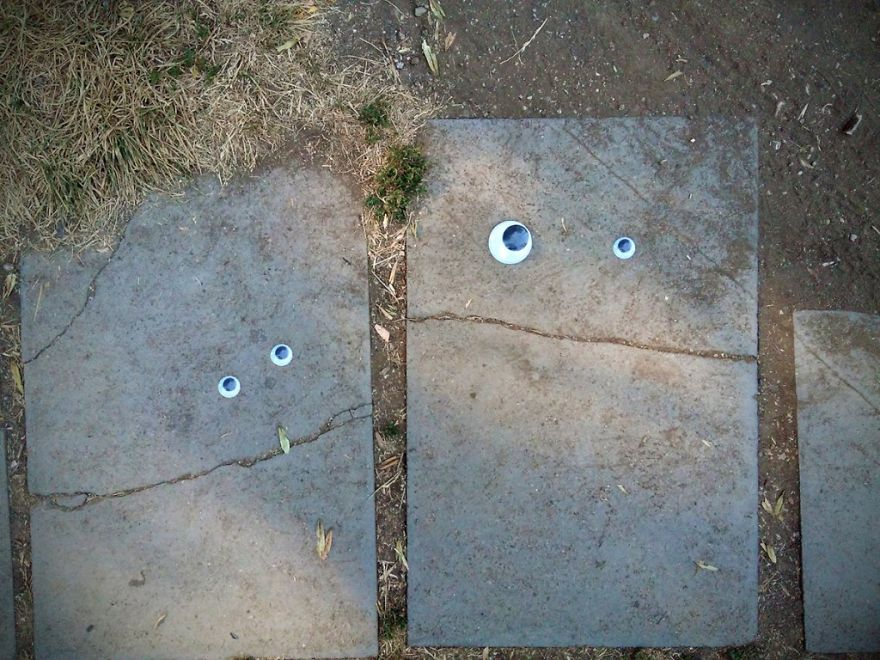 Eyebombing Bulgaria - Humanisation Of The Streets And The Environment