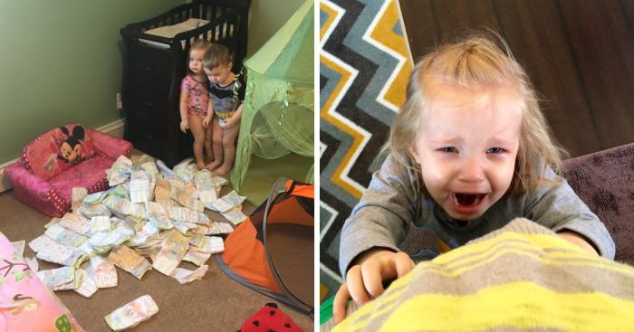 La gente me pregunta cómo es tener 3 niños pequeños, mis fotos lo resumen muy bien