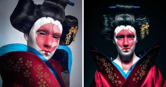 I Recreated Robot Geisha From Ghost In The Shell Bored Panda