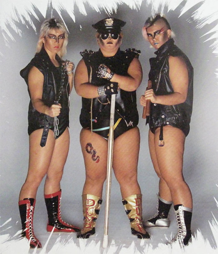 Awkward Metal Band Photo