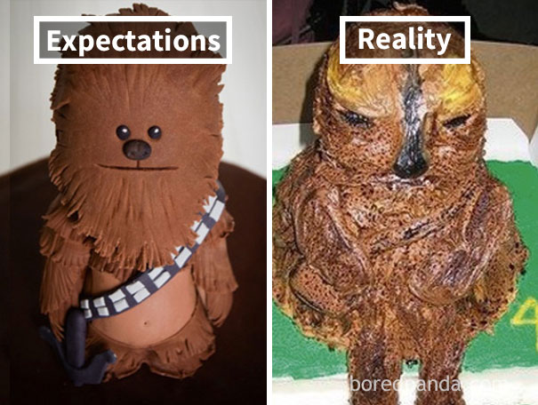 Wookiee Cake Fail