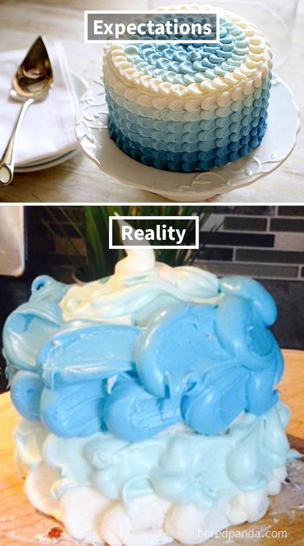 Ombre Cake Fail