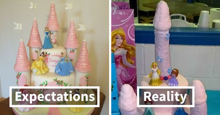 Expectations Vs Reality 30 Of The Worst Cake Fails Ever Bored Panda