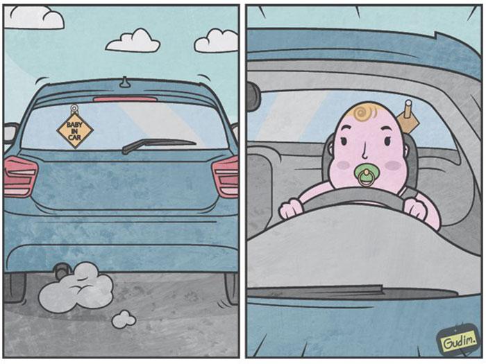 Anton Gudim Comic