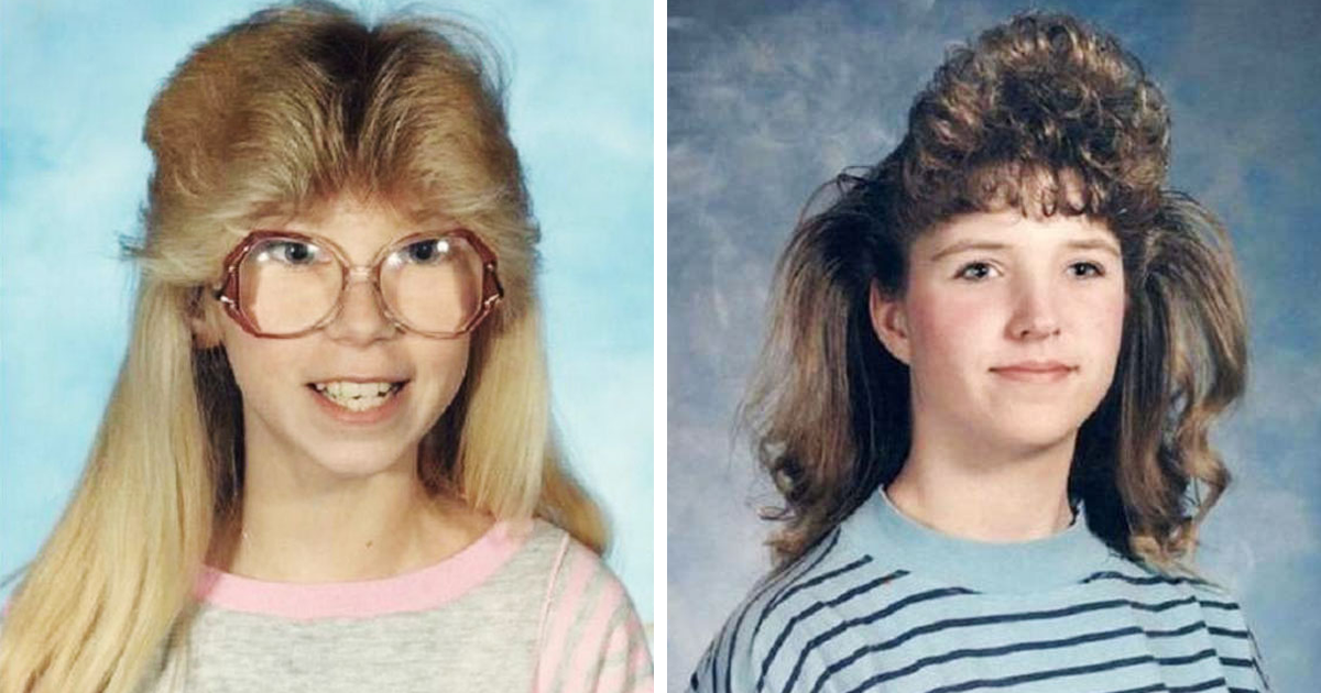 Hair Style In The 80s: 89 Hilarious Childhood Hairstyles From The '80s And '90s