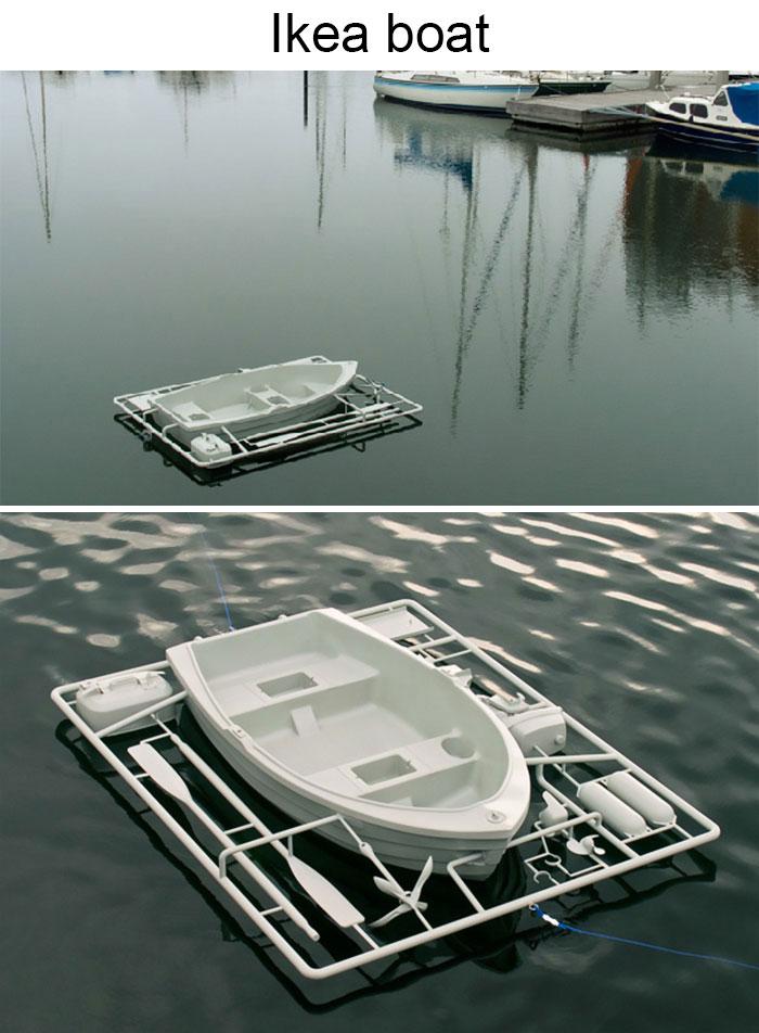 Ikea Boat