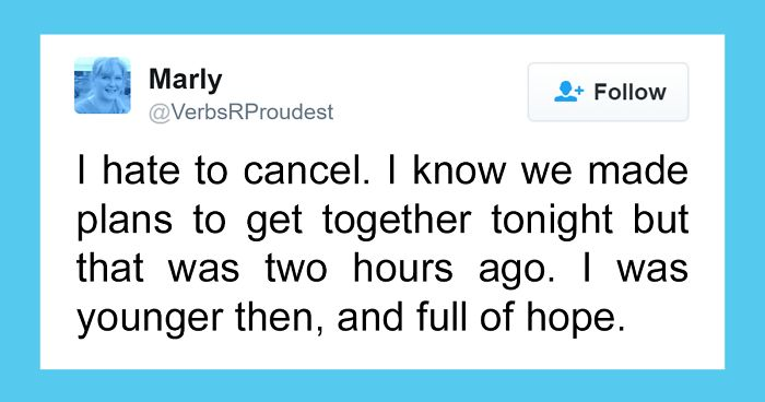 10+ Hilarious Introvert Tweets That Are Worth Cancelling Your Plans For