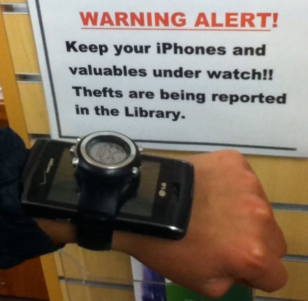 Valuables Under Watch