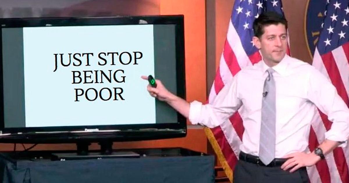 Image result for paul ryan tax plan presentation