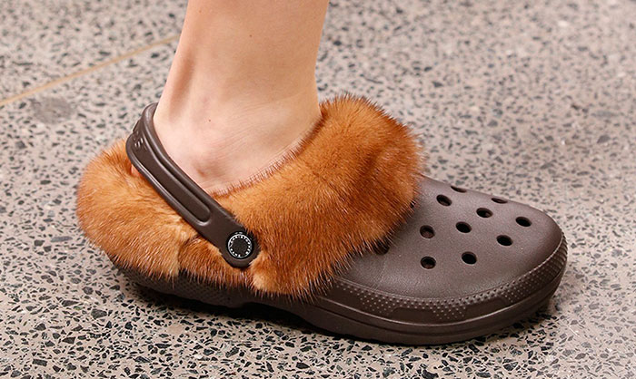 Furry Crocs Are A Thing Now, And The World Is Definitely Coming To An End