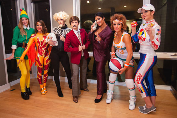 We Went 'Full-On Ferrell' This Halloween