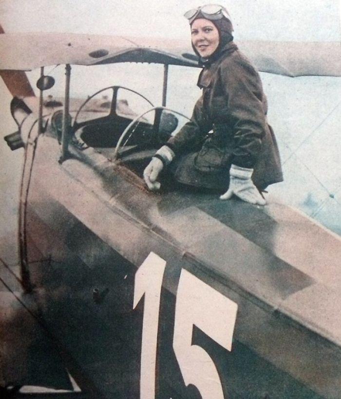 Sabiha Gökçen Was The World's First Female Combat Pilot