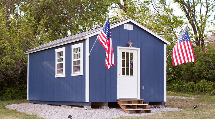 This Tiny Home Is One Of 50 That Make Up Veterans Village A New Housing Project In Kansas City