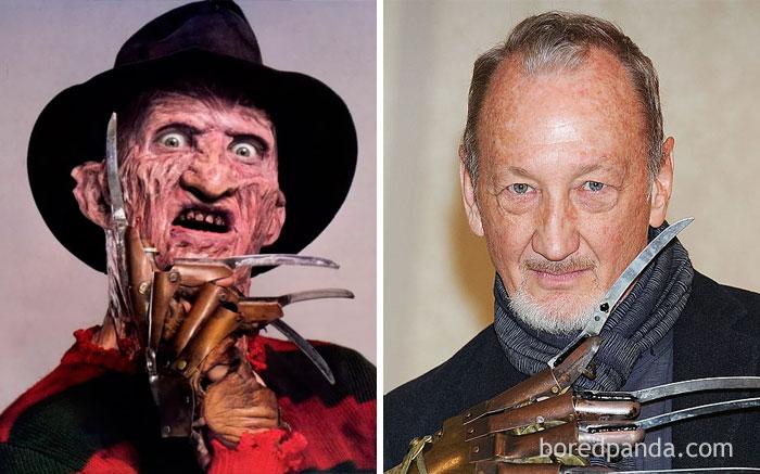 Freddy Krueger - Robert Englund (A Nightmare On Elm Street, 1984)