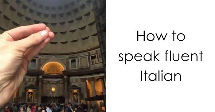 How To Speak Fluent Italian