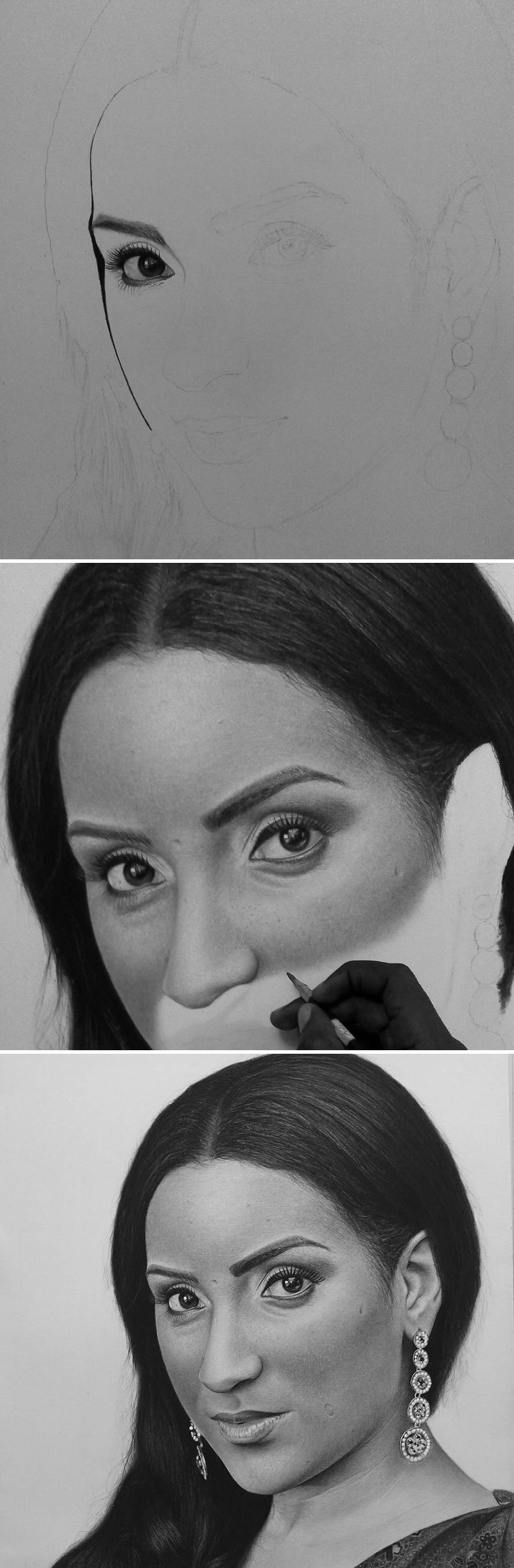 Unbelievably realistic pencil drawings by this nigerian artist look more real than photos themselves bored panda