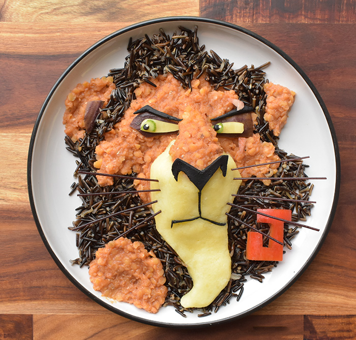 I Turn My Son's Healthy Organic Meals Into His Favourite Cartoon Characters