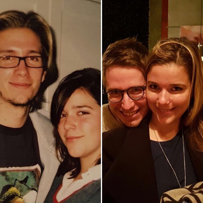 My Brother And I, 2005 And 2016 Greasy Teens To Adults.