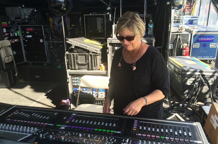 Karrie Keyes Has Been With Pearl Jam For 25 Years. Her Career Dates Back To When, As A Punk-loving Teenager At A Black Flag Show, She Met A Sound Engineer Who Offered Her A Job.