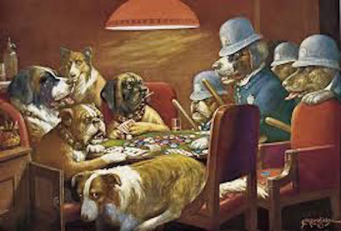 "My Favourite Versions Of ""Dogs Playing Poker"""