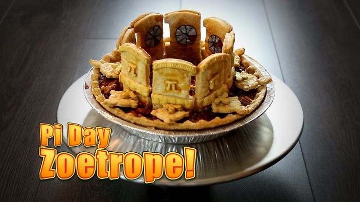 I Made An Edible Zoetrope Pie To Celebrate Pi Day!