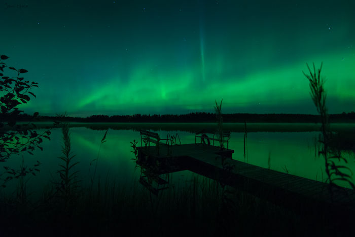 Beautiful Lake Auroras