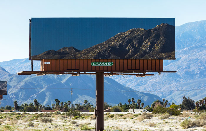 This Artist Is Replacing Billboards With Pictures Of The Landscapes They're Blocking