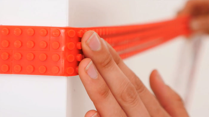 This LEGO Tape Lets You Turn Anything Into Lego-Compatible Surface ...