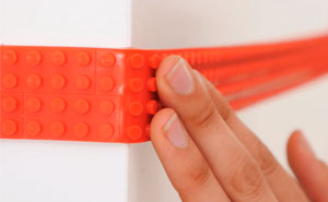 This LEGO Tape Lets You Turn Anything Into Lego-Compatible Surface, And Here's What You Can Do