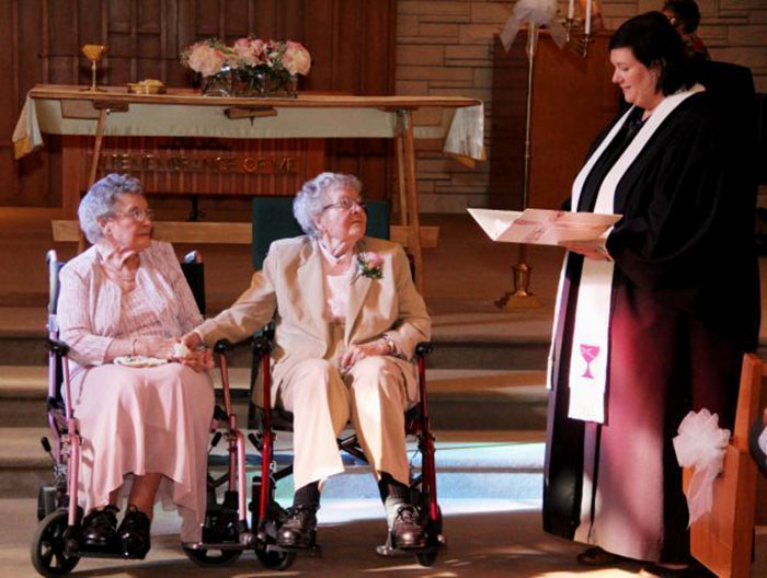 Getting Married, Because Now They Finally Can: Two Iowa Women Finally Marry After 72 Years Together