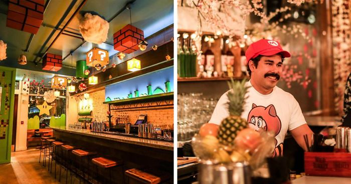 Mario-Themed Bar Just Opened And It's Every Geek's Dream Come True