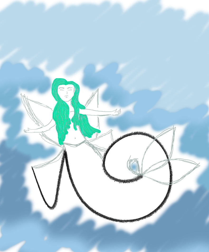 Yup... It's A Mermaid Fairy. It's A Thing Now