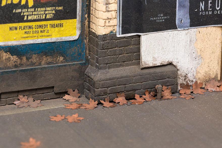 Karya Seni Miniatur Perkotaan Yang Dibuat Dengan Sangat Detil