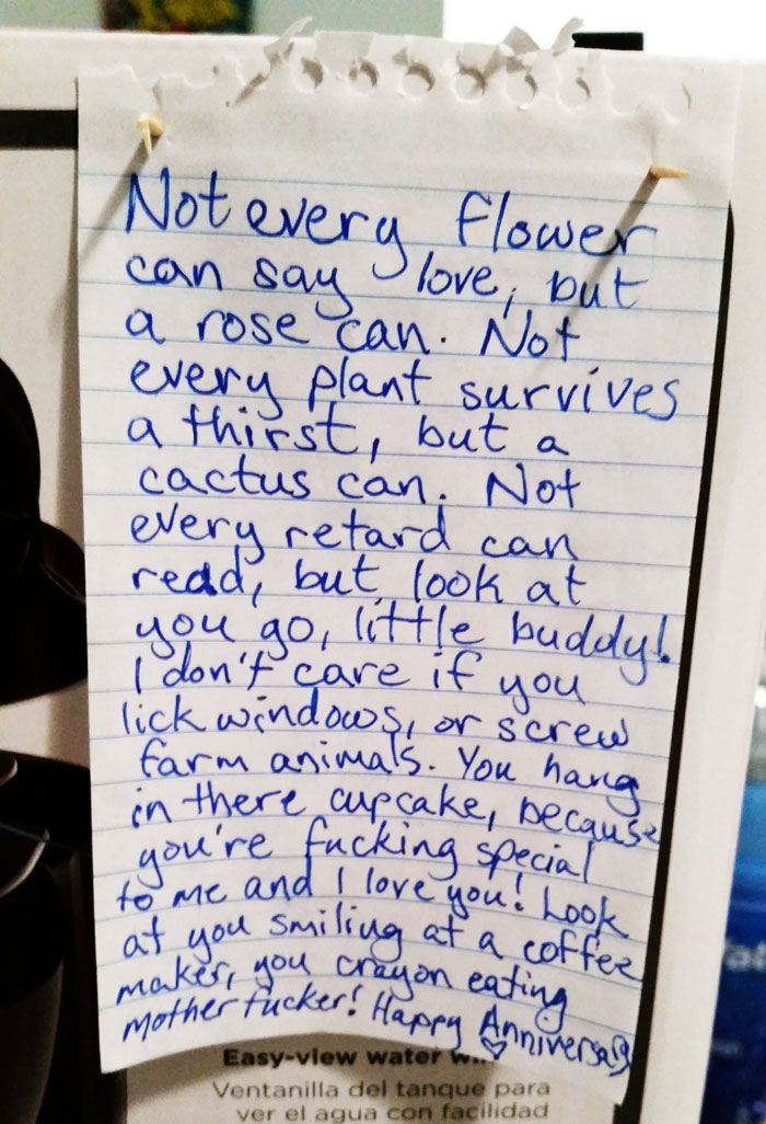 10+ Hilarious Love Notes By Couples With A Sense Of Humour | Bored ...