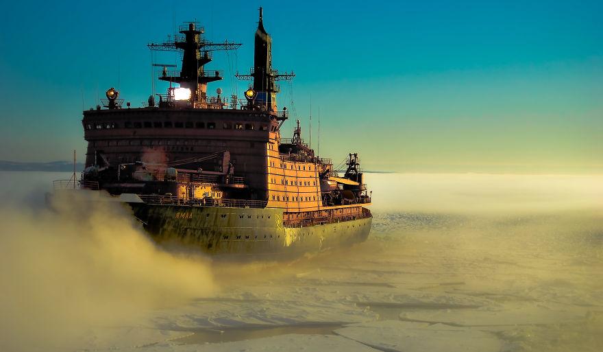 The White Sea, Vitino, Russia