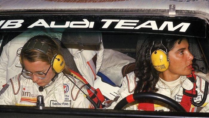 Michele Mouton And Fabrizia Pons – The Most Successful Female World Rally Championship Pair (wrc Championship Runner-up In 1982, Driving Groupb Audi Quattro).