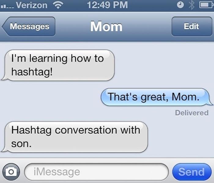 Hashtag Mom
