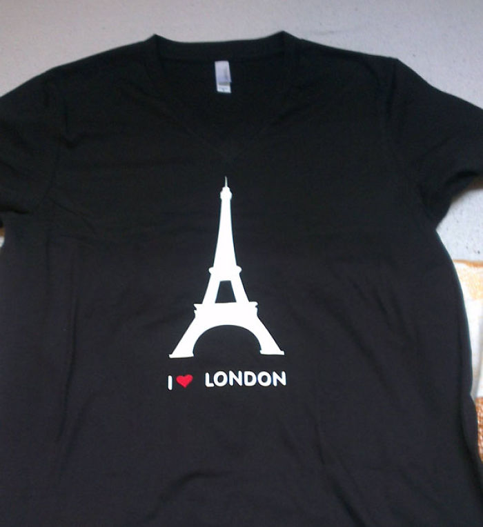 Me compré esta camiseta online y me miran raro