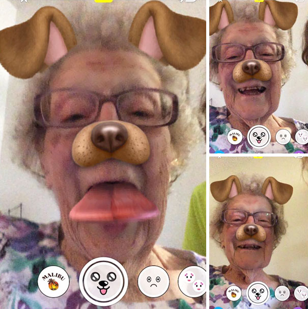 My 101-Year-Old Great Grandma Tried Out Snapchat For The First Time