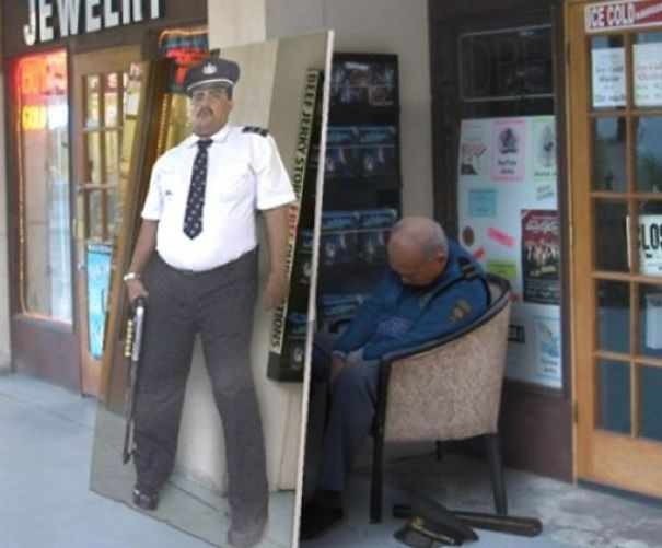 This Guard Ran Out Of F*cks To Give