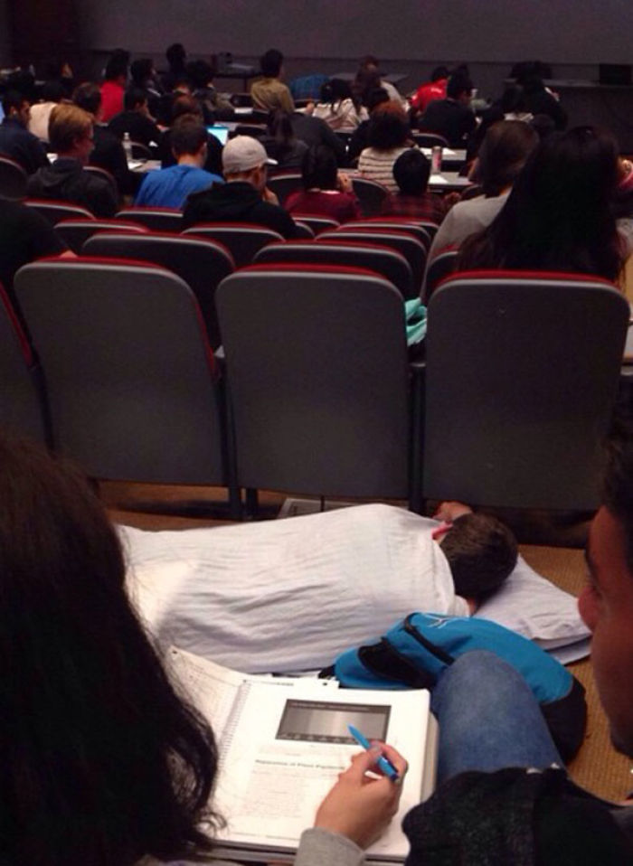 The Amount Of F*cks Were Below Zero At My Morning Lecture