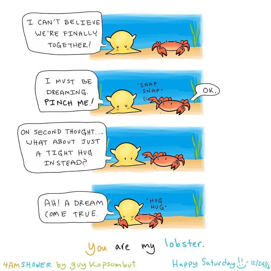 4amshower Comic