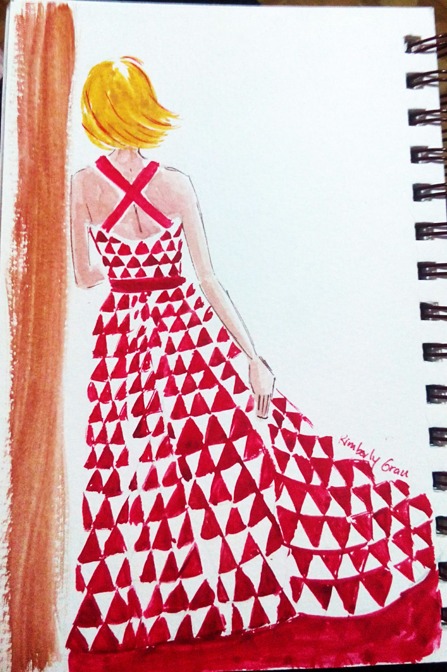 No. 20 – Red And White Triangles