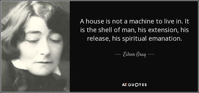 Eileen Gray – An Irish Architect And Furniture Designer And A Pioneer Of The Modern Movement In Architecture.