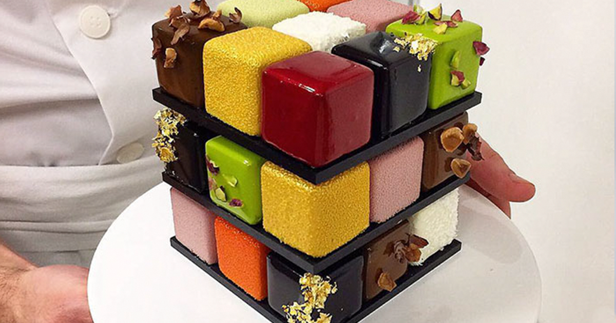 Rubiks Cakes Are A Thing And Theyre Too Pretty To Eat Bored Panda