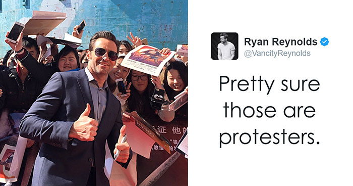 Ryan Reynolds And Hugh Jackman Trolling Each Other Is The Funniest Celeb Feud Ever